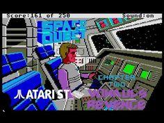 Space Quest II : Vohaul's Revenge - Atari ST (1986) playthrough