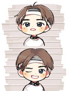 BTS Fan Årt • Kawaii • Kim Taehyung • V