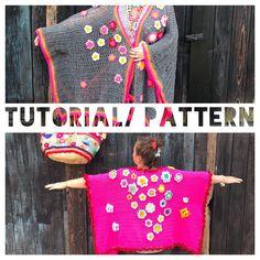 Een persoonlijke favoriet uit mijn Etsy shop https://www.etsy.com/nl/listing/519729518/tutorial-patroon-gehaakte-kimono