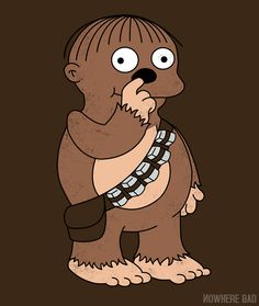 Ralph Wookie #Simpsons