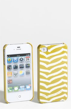 MARC BY MARC JACOBS 'Zora Stripe' iPhone 4 & 4S Case available at #Nordstrom