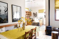 Anne & Steve's Relaxed, Eclectic & Casual Home in Cape Town Apartment Design, Apartment Therapy, African House, Uk Homes, Beautiful Interiors, Home Decor Styles, Country, Interior Inspiration, Design Inspiration