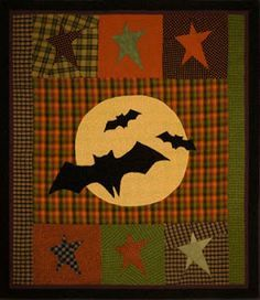 Parties and Patterns: Halloween Quilt Patterns Gone Batty