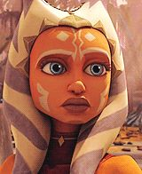 Ahsoka's reaction to Disney cancelling the Clone Wars...WIDE EYES. (GIF=click on it!)