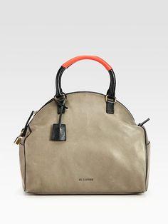 Jil Sander - Sporty Curved Bauletto Bag