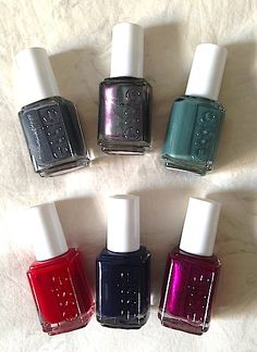 Review, Swatches: Essie Fall 2013 Nail Polish Collection Jewel-Toned, Gray Shades, Sleek Stick Summer 2013 Collection