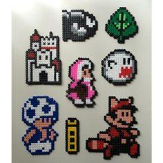 Super Mario hama beads by lottams