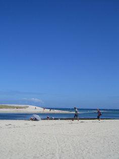 Une plage à Lesconil.