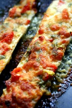 Stuffed courgettes - loved it!