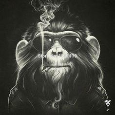 skateboard designs monkey - Pesquisa Google
