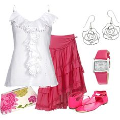 Girly :)  I can do without the accessories though just a bit to cute for my age :)
