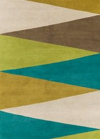 Harlequin Green by Johathan Adler, The Rug Company