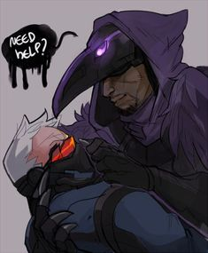 Nevermore - Soldier 76 - Reaper