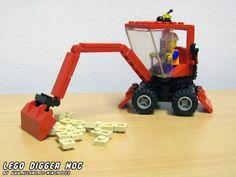 Lego Star Trek, Classic Lego, Lego Truck, Lego Ship, Red Plates, Red Tiles, Lego Photo, Lego Construction, Lego Toys