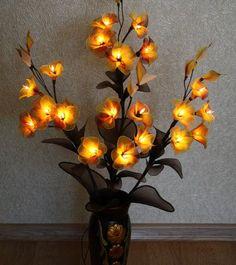 Купить Цветок светильник