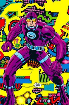 Machine Man by Jack Kirby/ color