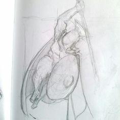 """Aerial strike"" dynamic pose stylized concept"