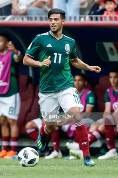 Carlos Vela of Mexico in action during the 2018 FIFA World Cup Russia group F match between Germany and Mexico at Luzhniki Stadium on June 17 2018 in Moscow Russia. Soccer Guys, Football Boys, Football Players, Mexico National Team, Germany Team, Mexico Soccer, Football Mexicano, Association Football, Western Caribbean