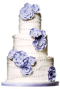 Brides: The Most Creative Wedding Cakes Of The Year | Cake by One Girl Cakes