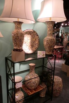 The Flora Collection from Emissary is intricately hand-carved, with each flower's glaze applied by hand. #HATtag #hpmkt