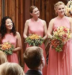 Grey's Anatomy Bridesmaid Dresses