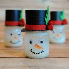 Frosty the Friendly DIY Snow Globe   AllFreeChristmasCrafts.com