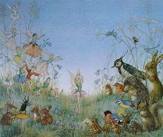 Flower Ballet by Molly Brett