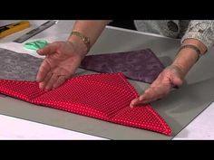 5 Minute bag with Valerie Nesbitt/Video Quilting Tutorials, Quilting Projects, Sewing Tutorials, Sewing Projects, Sewing Patterns, Fabric Crafts, Sewing Crafts, Fabric Bags, Quilted Bag