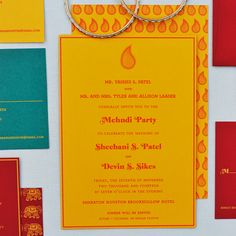 Oh So Beautiful Paper: Sheebani + Devin's The Darjeeling Limited-Inspired Wedding Invitations