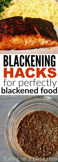 Forget buying blackened spices when you can make this easy Homemade Blackened Seasoning Recipe at home for a lot less. Enjoy Blackened salmon, blackened tilapia, and more with this easy blackened seasoning. Plus 5 easy tips for perfectly blackened food! Blackened Recipe, Blackened Seasoning, Blackened Tilapia, Seasoning For Tilapia, Tilapia Tacos, Fish Tacos, Tilapia Recipes, Salmon Recipes, Recipes