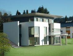 Neubau eines Wohnhauses mit Büro 57258 Freudenberg (Passivhausstandard)