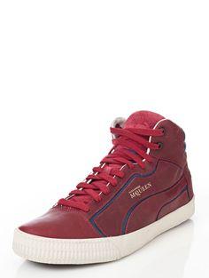 Alexander McQueen Puma Street Climb II Mid Leather Sneakers