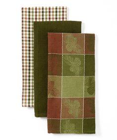 Pine Peak Lodge Dish Towel - Set of Three