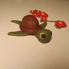 Polymer Clay Sea Turtle by SWEETIEDESIGN on Etsy, $6.00
