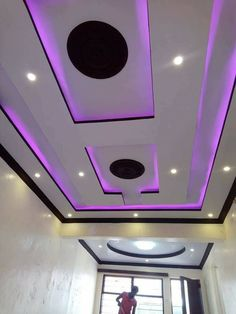 Gypsum Ceiling Design, House Ceiling Design, Ceiling Design Living Room, Bedroom False Ceiling Design, False Ceiling Living Room, Tv Wall Design, Living Room Designs, Pop Design For Hall, Gypsum Decoration