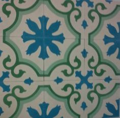 Modelo 193 #casa #house #home #tiles #floor #walls #Spain #Spanish #andalusia  #azulejos #floral