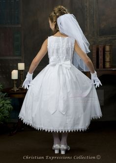 Morgan Cotton First Communion Dresses