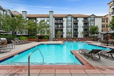 Community amenities include a resort-style pool with sundeck, screening room, and billiards room and lounge. #Amenities #CT #Apartments #IHaveArrived Room Screen, Apartment Communities, Billiard Room, Stamford, Luxury Apartments, Floor Plans, Lounge, Tours, Community