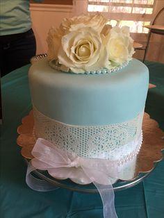Shower cake for Kara.