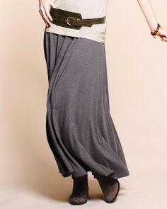 "Ok girls...I bought a skirt almost like this but it is black and ""oatmeal"" striped....WHAT DO I WEAR WITH IT?? -Anje @Jenna Baggs @RoseAnn @Alicia Lorane @Rachel Hampton Olson"