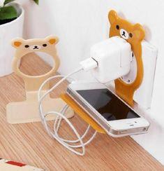 Cartoon Mobile Phone Charging Rack Bracket