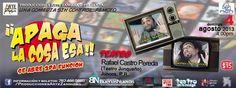 Comedia: ¡Apaga la Cosa Esa! @ Teatro Rafael Castro Pereda, Juncos #sondeaquipr #comedia #apagalacosaesa #juncos #teatrorafaelcastropereda