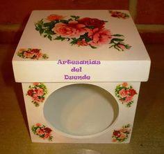 caja con visor  vintage shabby chic souvenir