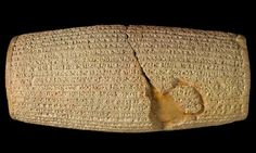 The 539BC Cyrus cylinder, owned by the British Museum, is seen by some as the first declaration of human rights