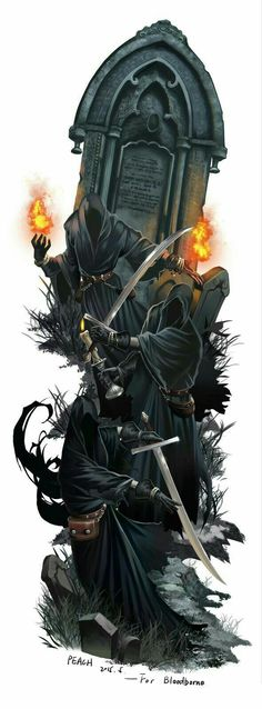 Shadow of Yharman, Bloodborne. This is amazing stuff right here. Dark Fantasy Art, Fantasy Rpg, Dark Art, Art Dark Souls, Vampires, Bloodborne Art, Old Blood, Arte Obscura, Arte Horror