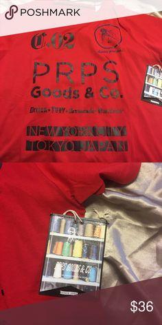 ⏰LAST CALL PRPS men's t-shirt PRPS men's size XXL t-shirt NWT original $78 PRPS Shirts Tees - Short Sleeve