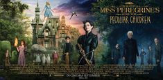 Miss Peregrine's Home for Peculiar Children - Character posters