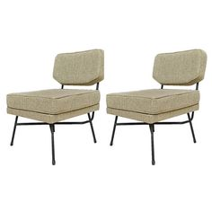 """Pair of Armchairs """"Elettra,"""" Arflex Edition by BBPR Studio 