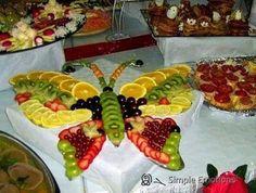 Butterfly fruit design