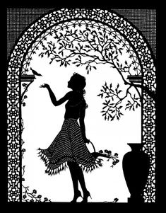 Beth White Cut Paper Illustration